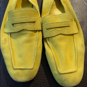 Ivanka Trump  Lime loafers 9 1/2